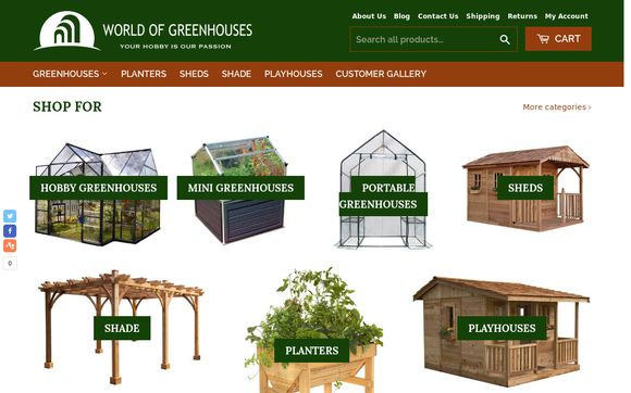 World of Greenhouses