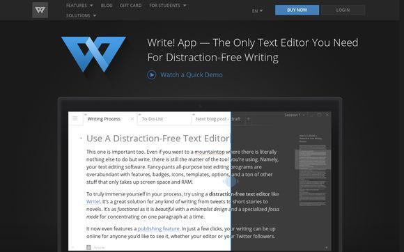 Write App