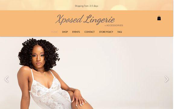 Exposed Lingerie