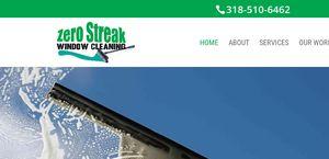 Zero Streak Window Cleaning